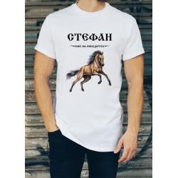 Мъжка тениска за Стефановден МОДЕЛ 13