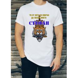 Мъжка тениска за Стефановден МОДЕЛ 22