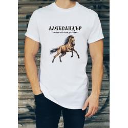 Мъжка тениска за Александровден МОДЕЛ 8