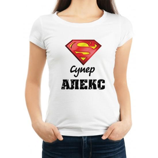 Дамска тениска за Александровден МОДЕЛ 2