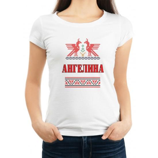 Дамска тениска за Архангеловден МОДЕЛ 1