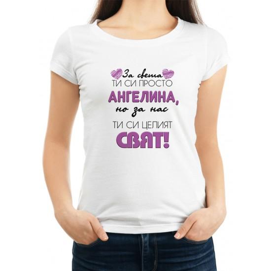 Дамска тениска за Архангеловден МОДЕЛ 10