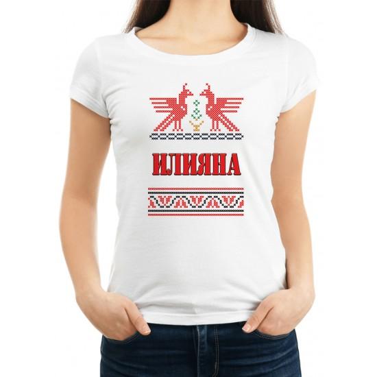 Дамска тениска за Илинден МОДЕЛ 8