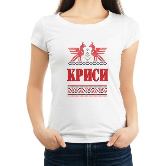 Дамска тениска за Кръстовден МОДЕЛ 8