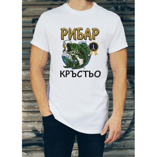 Мъжка тениска за Кръстовден МОДЕЛ 10