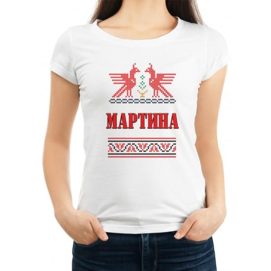Дамска тениска за Мартина МОДЕЛ 15
