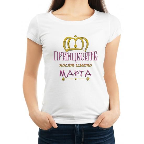 Дамска тениска за Мартина МОДЕЛ 17