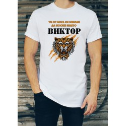 Мъжка тениска за Виктор МОДЕЛ 17