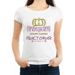 Дамска тениска за Виктория МОДЕЛ 4
