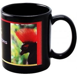 Черна чаша с Ваша снимка и надпис