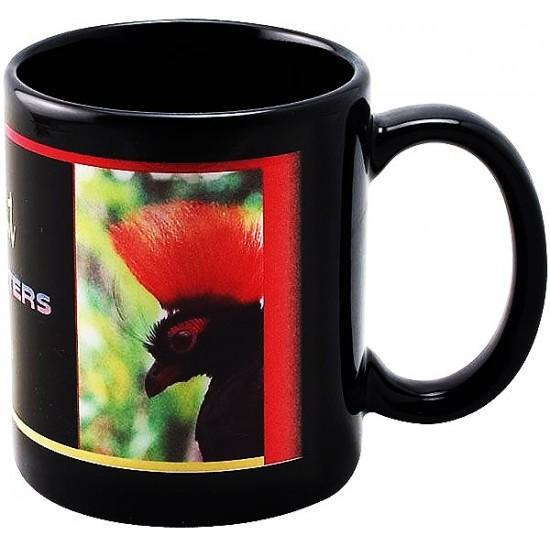 Черна чаша  със снимка