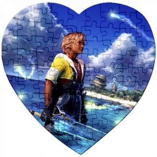 Пъзел  със снимка -  сърце