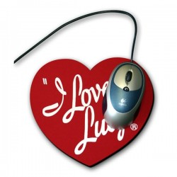 Печат на подложка за мишка със ваша снимка - сърце