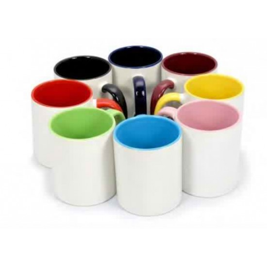 Рекламна чаша с цветна вътрешност със снимкаPlovdiv Print Design