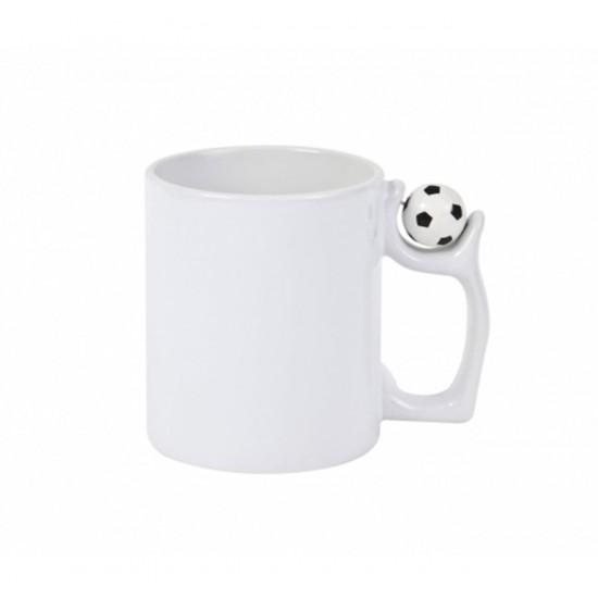 Чаша с футболна топка с ваша снимка